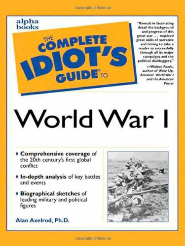 Complete Idiot'S Guide To World War I