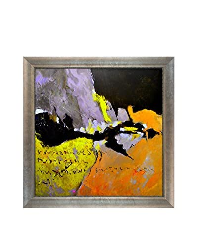 "Pol Ledent ""Abstract 884523″ Framed Canvas Print, Multi, 29″ x 29"""