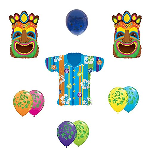 Tropical Hawaiian Balloon Bouquet (Tropical Island Water Table compare prices)