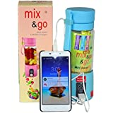 Mix & Go Nutri Juicer Hot New Arrival 380ml Portable Wireless Rechargeable Automatic Electric Mini Juicer Bottle...