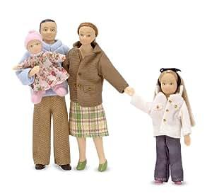 Melissa & Doug Victorian Doll Family