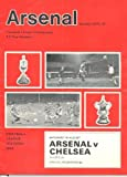Arsenal v Chelsea official programme 14/08/1971