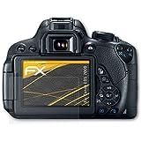 3 x atFoliX Film protection d'écran Canon EOS 700D / Rebel T5i Film protecteur Protecteur d'écran - FX-Antireflex anti-reflet