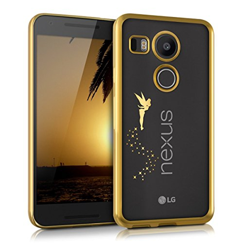 kwmobile-crystal-tpu-silicone-case-for-lg-google-nexus-5x-in-gold-transparent-design-fairy