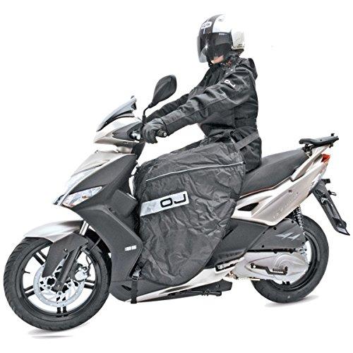 coprigambe-universale-moto-scooter-oj-keeway-motor-outlook-sport-125-felpato-nero