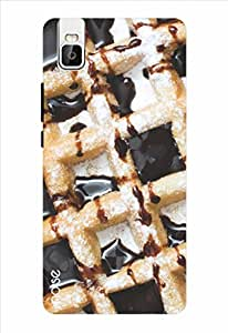 Noise Chocolate Waffles Printed Cover for Huawei Honor 7I