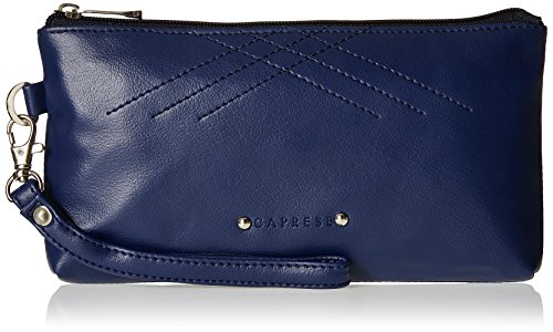 Caprese Women's Clutch (Blue)  available at amazon for Rs.619