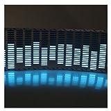 AGPtek® 45*11cm Sound Music Activated Car Stickers Equalizer Glow Blue LED Light (Space Saving, Low Power Consumption)