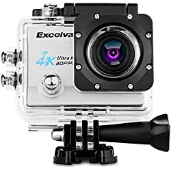 "Excelvan Q8 WiFi Action Camera 2.0"" Impermeabile 4K 30FPS 1080P HD 16MP Sports Video Camera DV"
