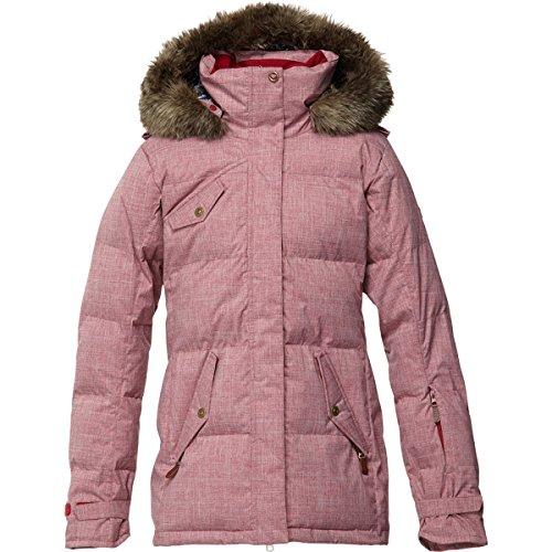 Roxy Quinn Women's Jacket (RHUBARB, S)