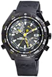 Timex Men's Expedition T49795 Black Resin Quartz Watch with Black Dial