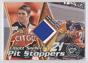 Elliott Sadler #123 200 (Trading Card) 2000 Press Pass Trackside [???] #PSN A by Press Pass Trackside