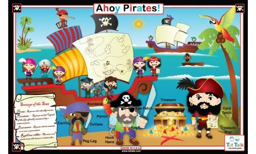 Ahoy Pirates Placemat