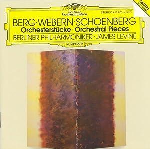 Berg : Trois pièces op.6 / Webern : Six pièces op. 6 / Schoenberg : Cinq pièces op. 16