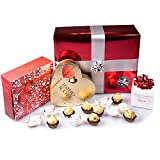Ferrero Valentine's Love Gift Box - Rocher Heart, Raffaello Gift Box - By Moreton Gifts