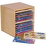 "Wood Designs WD33200 Tabletop Puzzle Rack, 16 x 15 x 14"" (H x W x D)"