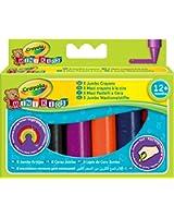 Crayola Mini Kids - Loisir Créatif - 8 Maxi Crayons À La Cire