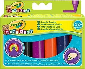 Crayola Wachsmalstifte extra dick 8 Stk. ab 1 Jahr