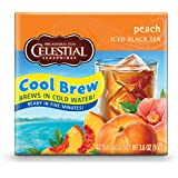 Celestial Seasonings Peach Iced Tea, 40 Count (Pack of 6)