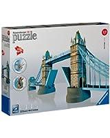 Ravensburger - 12559 - Puzzle 3D Building - 216 Pièces - Building - Tower Bridge - Londres