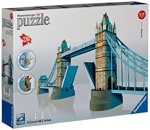 Ravensburger Tower Bridge 3D Puzzle - 1