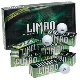 Intech LIMBO Ultra Soft Golf Balls - 18 Pack