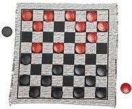 Jumbo Checker Rug Game