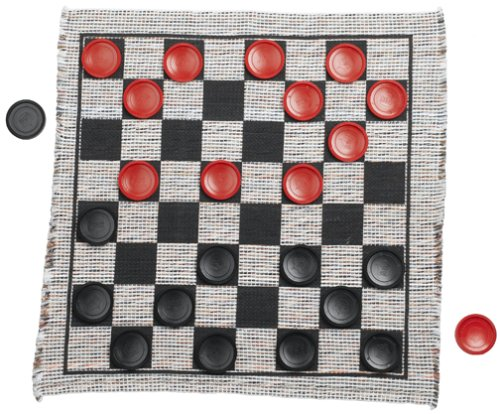 Jumbo Checker Rug Game JungleDealsBlog.com