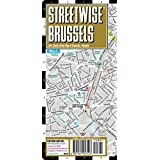 Streetwise Brussels Map - Laminated City Center Street Map of Brussels, Belgium