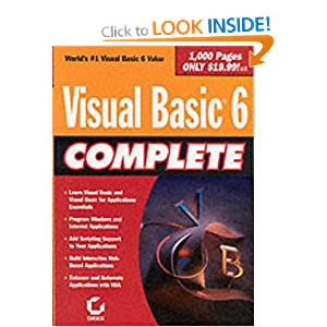 Visual Basic 6 Complete