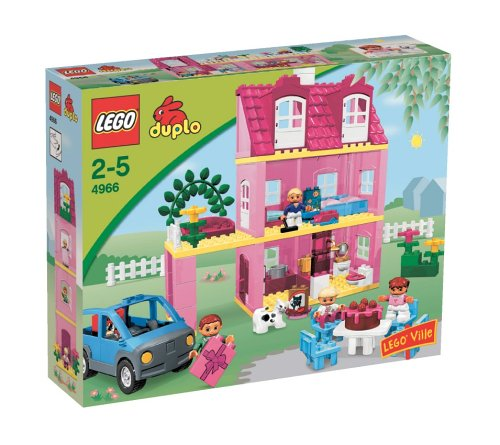 lego duplo ville 4966 spielhaus. Black Bedroom Furniture Sets. Home Design Ideas