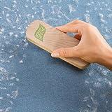 Fusselbürste Textil Haare Tierhaare Kleider Bett Teppich Auto, mit Häkchenmaterial -