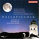 Dallapiccola: Tartiniana; Due Pezzi; Variazioni per Orchestra; Piccola Musica Notturna; Frammenti Sinfonici dal Balle