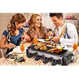 VelKro Deluxe Huan Yi Compact Electric Barbecue Grill And Tandoor - Now With Frying And Roasting Function