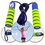 Veluxio Adjustable Jump Rope for Kids…