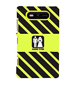 PRINTVISA Wedding Funny Case Cover for Nokia Lumia 820