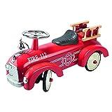 Goki 14162 - Rutscherfahrzeug Feuerwehr hergestellt von Goki