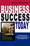 img - for Business Success Today: How 20 Businesses Are Achieving Outstanding Success Even in Difficult Times book / textbook / text book