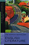 Stephen Greenblatt The Norton Anthology of English Literature: 20th Century v. F