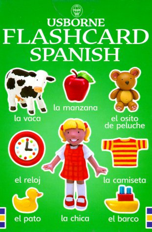 Usborne Flashcard Spanish