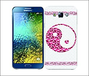 Galaxy Printed 2087 Geometric Relegious Symbol Taoism Hard Cover for Samsung A5