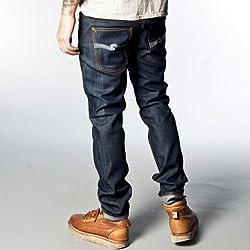 ヌーディージーンズ Nudie Jeans メンズ ジーンズ Thin Finn 559 Organic Dry Ecru Emb W28 L30