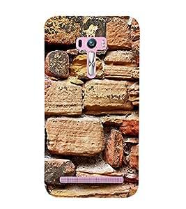 Stone Wall 3D Hard Polycarbonate Designer Back Case Cover for Asus Zenfone Selfie ZD551KL