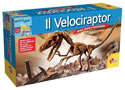 Lisciani Giochi 49035 - Piccolo Genio Scava e Scopri, Velociraptor