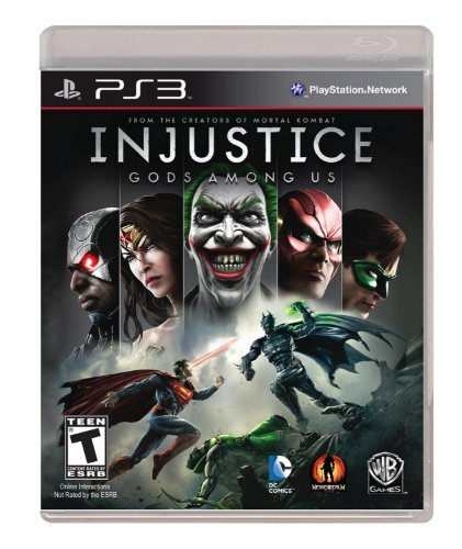 Injustice: Gods Among Us on Fighting