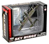 Richmond Toys Motormax Sky Wings Classic Lancaster Aircraft Die-Cast Model Approx 1:100 Scale with Authentic Details