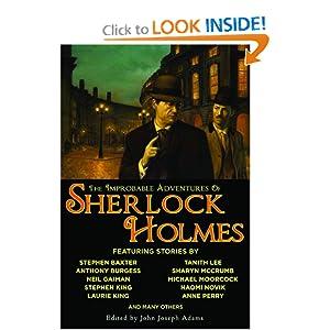 The Improbable Adventures of Sherlock Holmes - John Joseph Adams