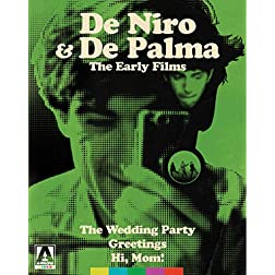 De Palma & De Niro: The Early Films [Blu-ray]