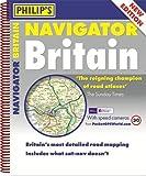 Philip's Navigator Britain: Spiral (Road Atlas)