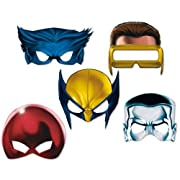 X-Men Character Masks (10 count)